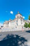 Edificio alemán del parlamento Imagenes de archivo