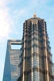 Edificio alto di Schang-Hai Fotografia Stock Libera da Diritti