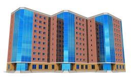Edificio alto moderno del asunto Fotografía de archivo libre de regalías