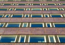 Edificio alto Windows Immagini Stock Libere da Diritti