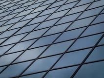 Edificio alto Windows Fotografia Stock Libera da Diritti