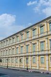 Edificio amarillo Foto de archivo