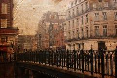 Edificio antiguo de la ciudad en Europa foto de archivo libre de regalías