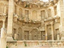 Edificio antiguo de la ciudad vieja de Jeresh fotografía de archivo