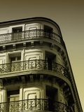Edificio antiguo de Provence fotos de archivo