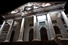 Edificio antiguo del estilo de la configuración Imagen de archivo libre de regalías