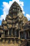 Edificio antiguo en el territorio del templo de Angkor Wat en el complejo de Angkor, Siem Reap, Camboya foto de archivo libre de regalías