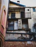 Edificio antiguo - Fossano Imagen de archivo