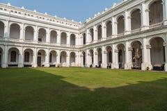 Edificio arquitectónico gótico del museo indio histórico en Kolkata, la India Foto de archivo