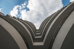 Edificio arquitectónico hermoso Foto de archivo libre de regalías