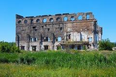 Edificio arruinado Imagen de archivo libre de regalías