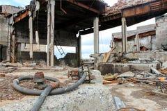 Edificio arruinado Fotografía de archivo