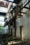 Edificio arruinado sucio Imagenes de archivo