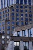 Edificio azul Fotos de archivo