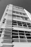 Edificio b/n imagen de archivo