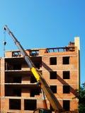 Edificio bajo construcción Imágenes de archivo libres de regalías