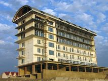 Edificio bajo construcción Foto de archivo