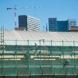 Edificio bajo construcción Fotografía de archivo