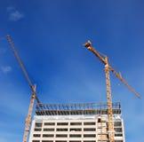 Edificio bajo construcción foto de archivo libre de regalías