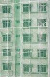 Edificio bajo construcción (vertical) Imagenes de archivo