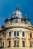 Edificio barroco del palacio de Banffy en Cluj-Napoca, Rumania foto de archivo libre de regalías