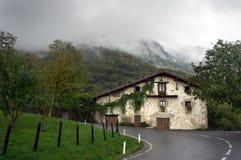 Edificio basque típico fotos de archivo