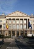 Edificio belga del parlamento Foto de archivo libre de regalías