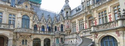 Edificio benedictino del palacio Imagen de archivo libre de regalías