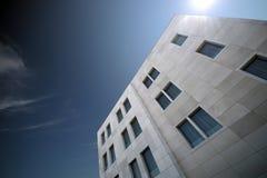 Edificio blanco Imagen de archivo