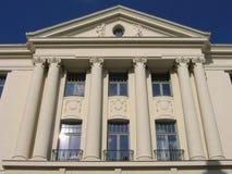 Edificio blanco I Imagen de archivo