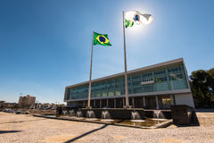 Edificio brasileño del gobierno foto de archivo