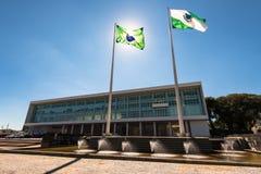 Edificio brasileño del gobierno imagenes de archivo