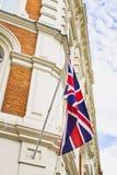 Edificio británico Imagen de archivo libre de regalías