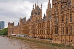 Edificio británico del parlamento Foto de archivo