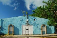Edificio céntrico del St Croix Frederiksted imagen de archivo