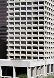 Edificio céntrico moderno Foto de archivo libre de regalías