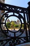 Edificio capital con rallar Albany céntrica NY Imagenes de archivo