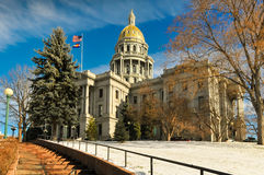 Edificio capital de Colorado fotos de archivo libres de regalías