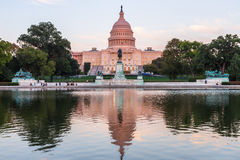 Edificio capital de los E.E.U.U. en el Washington DC, los E.E.U.U. Fotografía de archivo