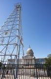 Edificio capital de Oklahoma Foto de archivo