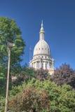 Edificio capital en Lansing Michigan Imágenes de archivo libres de regalías