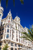 Edificio Carbonell, a historic building in Alicante, Spain. Built in 1918 Royalty Free Stock Photography