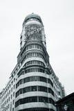 Edificio Carrion, Μαδρίτη Στοκ Εικόνα