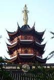 Edificio chino Fotografía de archivo