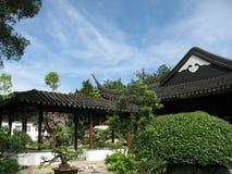 Edificio chino de la estructura Fotografía de archivo libre de regalías