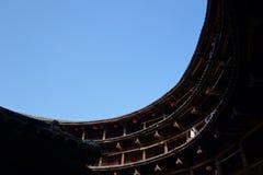 Edificio chino de la tierra Fotos de archivo