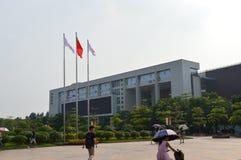 Edificio chino de la universidad Fotos de archivo