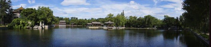 Edificio chino del jardín foto de archivo