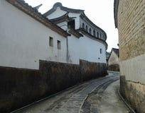 Edificio chino viejo Imagenes de archivo