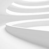 Edificio circular blanco Fotografía de archivo libre de regalías